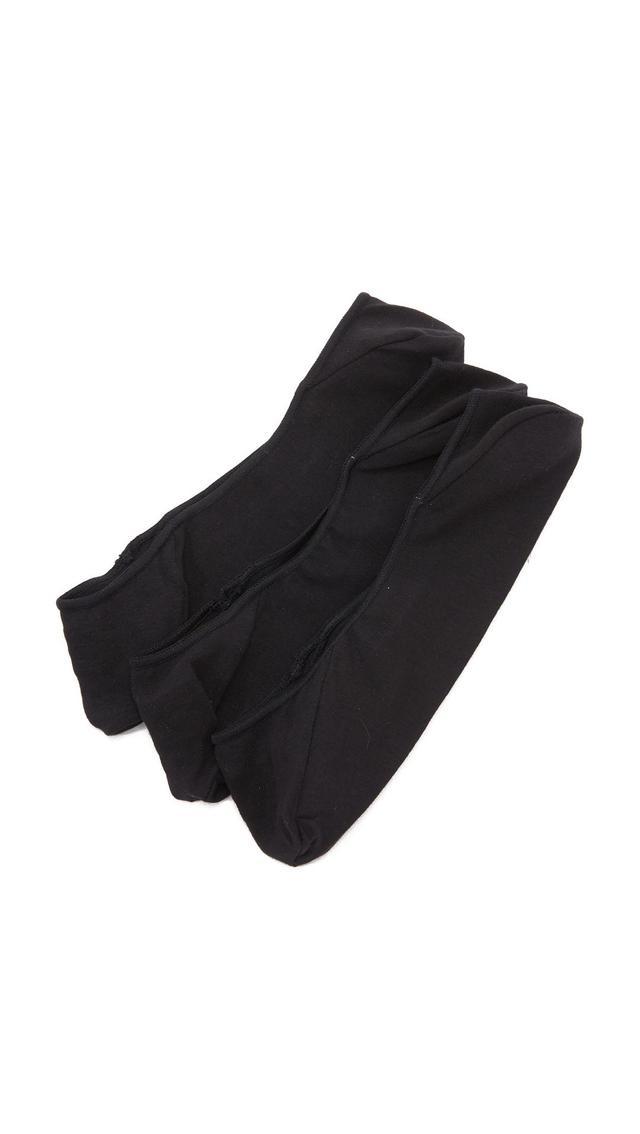 No Show Socks Three Pack