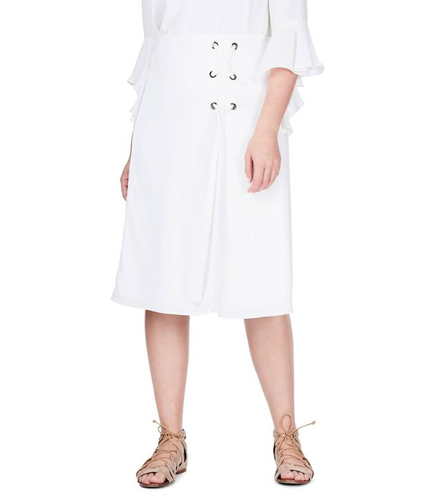 Elvi Lace-Up Skirt