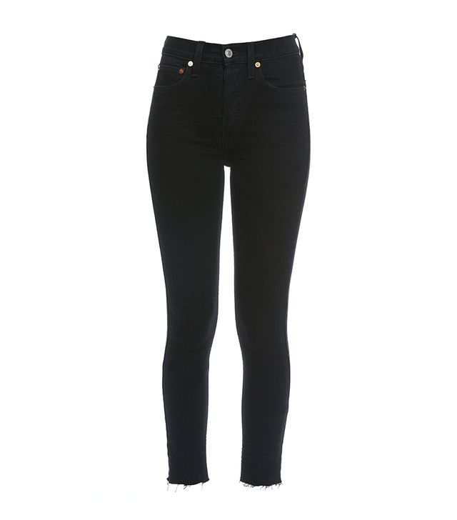 Re/Done Originals Stretch High Rise Ankle Crop Jeans