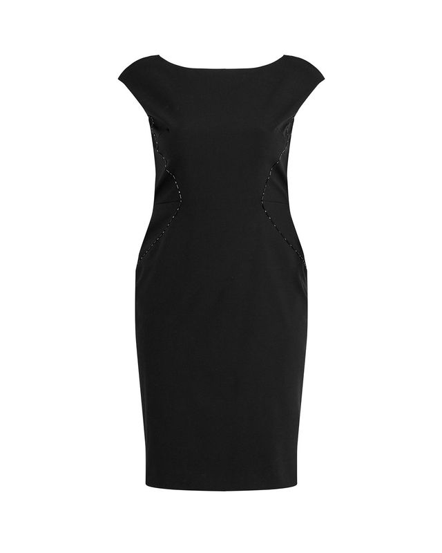 Zac Posen Stretch Cady Sheath Dress