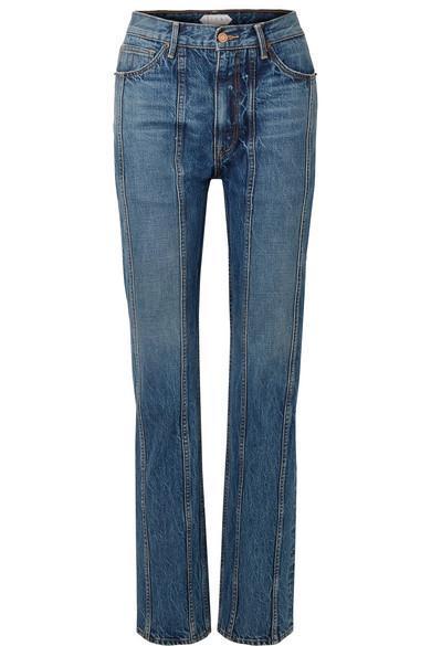 Tori Paneled Boyfriend Jeans
