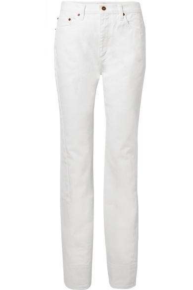 Beth High-rise Straight-leg Jeans