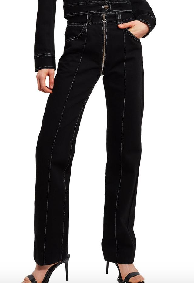 Lorod Zip-Through Jeans