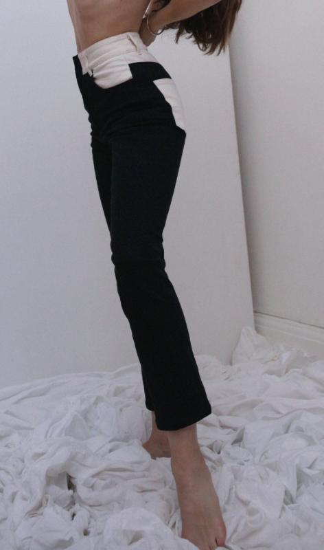Wendelborn Combo Studio Jean in Black/Natural