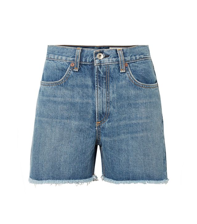 Rag & Bone Torti Denim Shorts