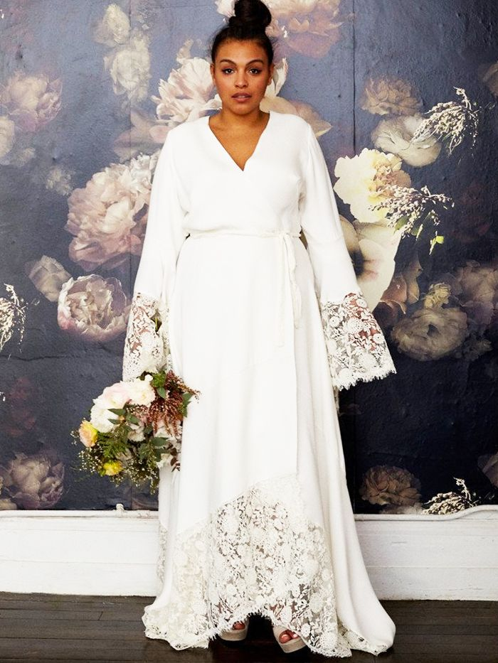 605038a216d43 Best Plus-Size Wedding Dresses: 11 Frocks You'll Love | Who What Wear UK