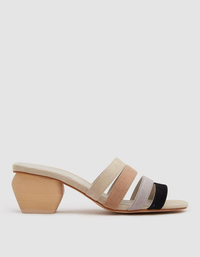 Joy Sandal in Black Multi