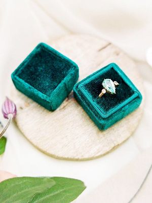 7 of the Prettiest Engagement Ring Boxes We've Seen