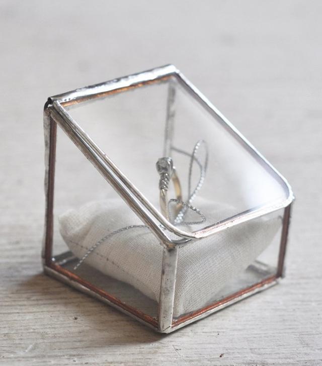 ABJ Glassworks Lidded Ring Box
