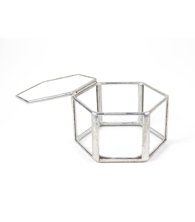 Brittney M. Peterson Geometric Glass Ring Box