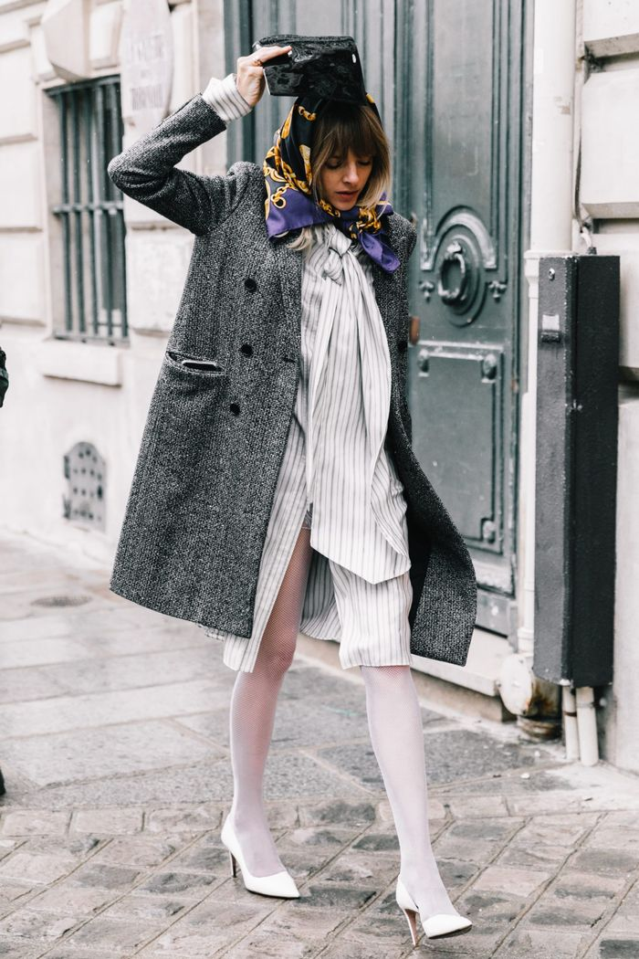 6 Cute Ways To Style Silk Scarves This Spring Who What Wear