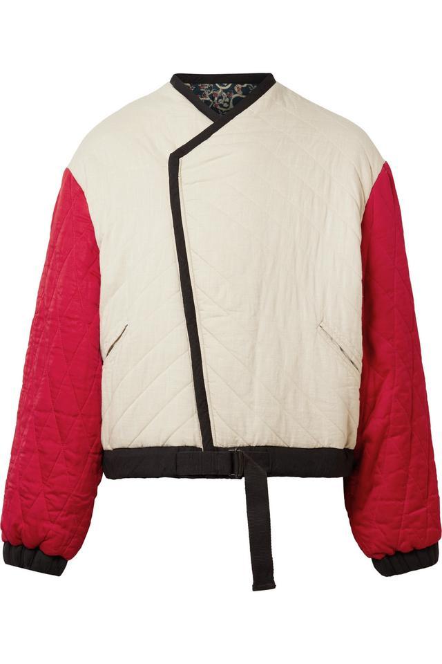 Isabel Marant Étoile Hanae Reversible Quilted Cotton Jacket