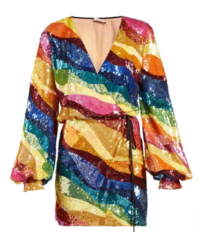 Rosie Huntington Whiteley S Attico Dress Is Pure Magic
