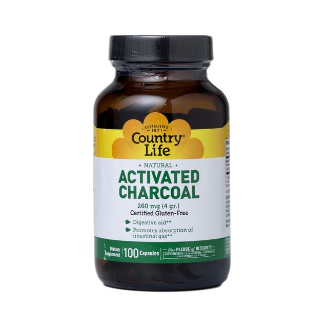 Country Life Activated Charcoal Capsules