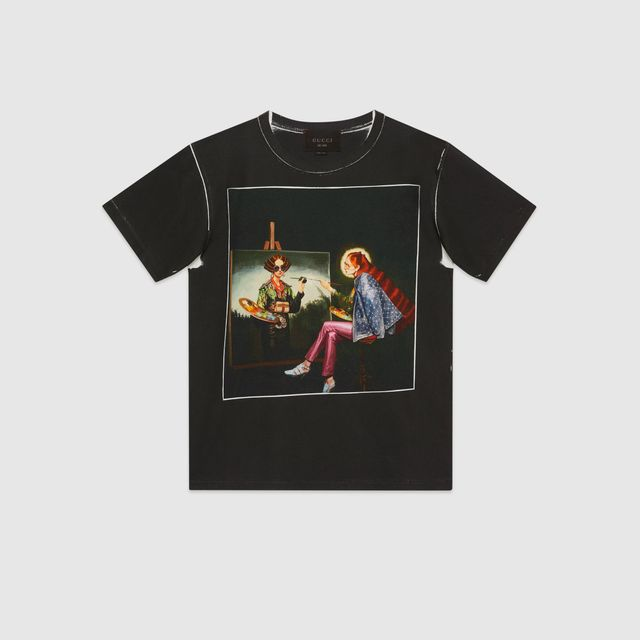 Gucci #GucciHallucination Print T-shirt