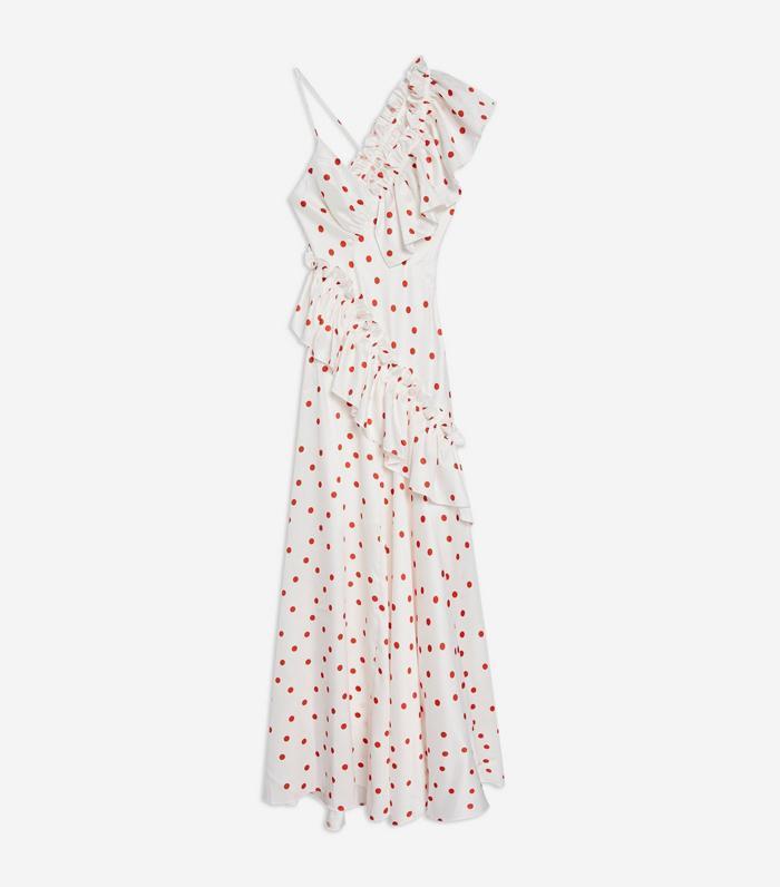 Topshop S Cult Polka Dot Dress Just Got Even Better Who
