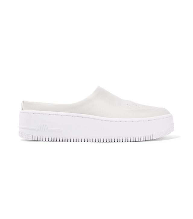 The 1 Reimagined Air Force 1 Lover Xx Nubuck Platform Slip-on Sneakers