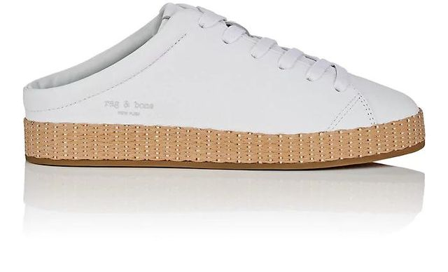 Women's RB1 Leather Mule Sneakers