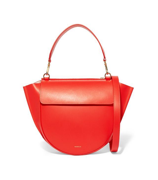 Wandler Hortensia Medium Leather Shoulder Bag