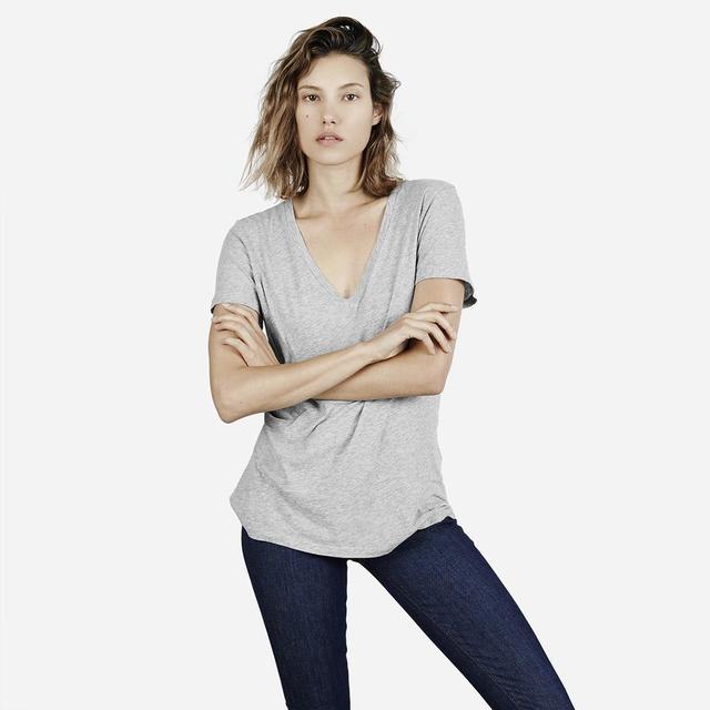 Everlane Cotton V T-Shirt