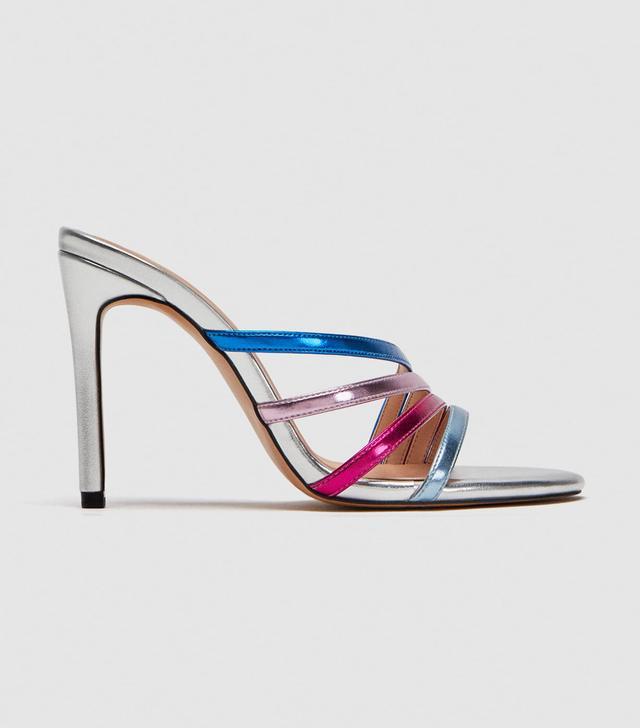 Zara High Heel Strappy Sandal