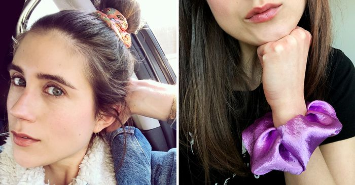 The Hair Scrunchie Trend Is Back Who What Wear