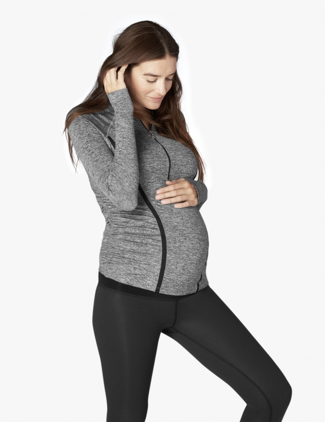 Beyond Yoga Along the Way Maternity Pullover
