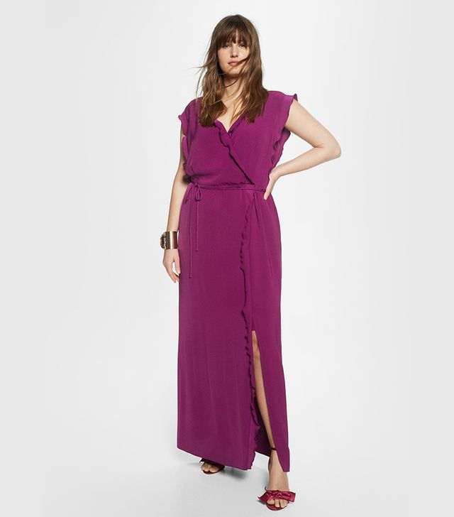 Violeta Wrapped Gown