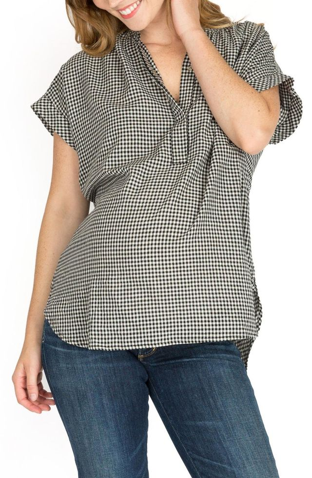 Iris High/low Maternity/nursing Blouse