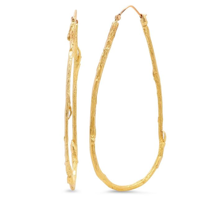 Elisabeth Bell Jewelry Large Willow Hoops