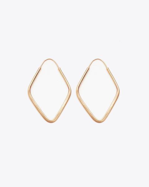 Nisolo Soft Diamond Hoop Earrings