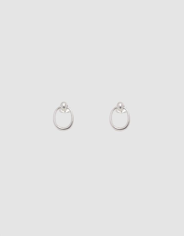 Secret Earrings in Silver