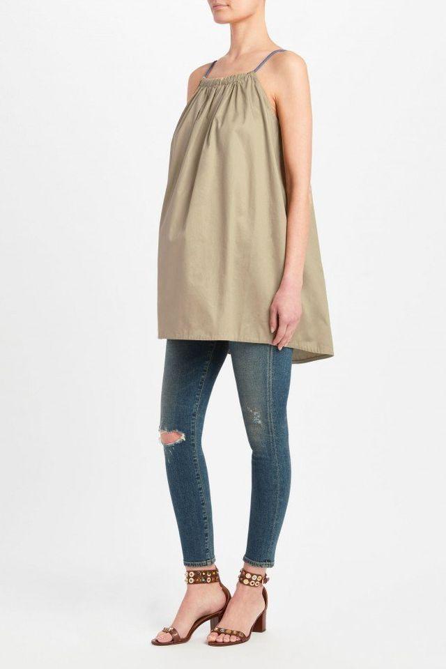 By Malene Birger Kanal Top With Rope Spaghetti Straps