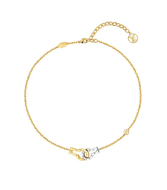 Louis Vuitton Twin Locks Supple Necklace