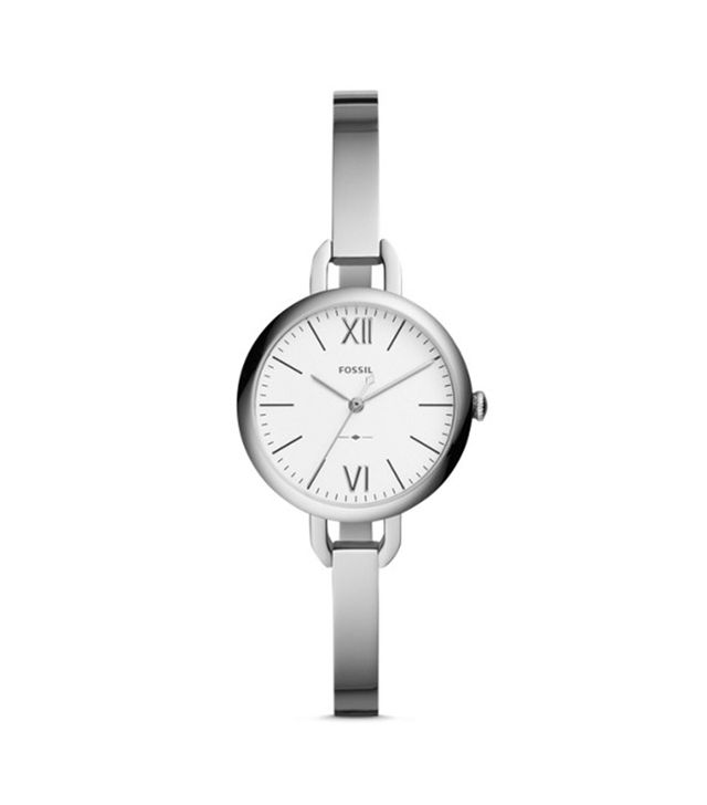 Fossil Annette Three-Hand Stainless Steel Watch