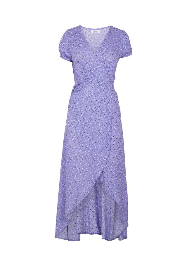 Auguste The Label Daphne Easy Days Wrap Maxi Dress in Lavender