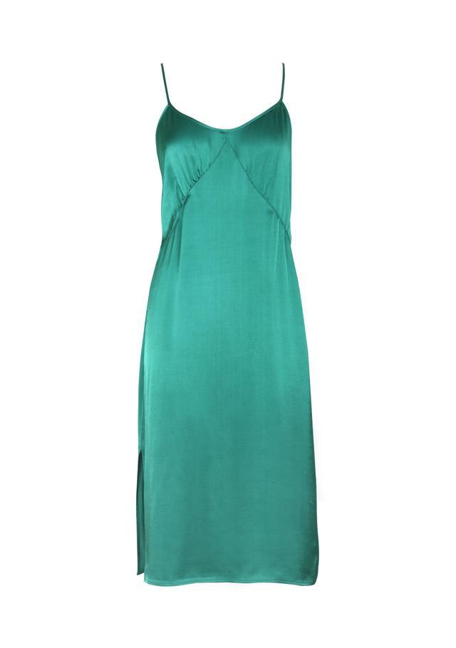 Auguste The Label Harper Slip Dress in Emerald Green