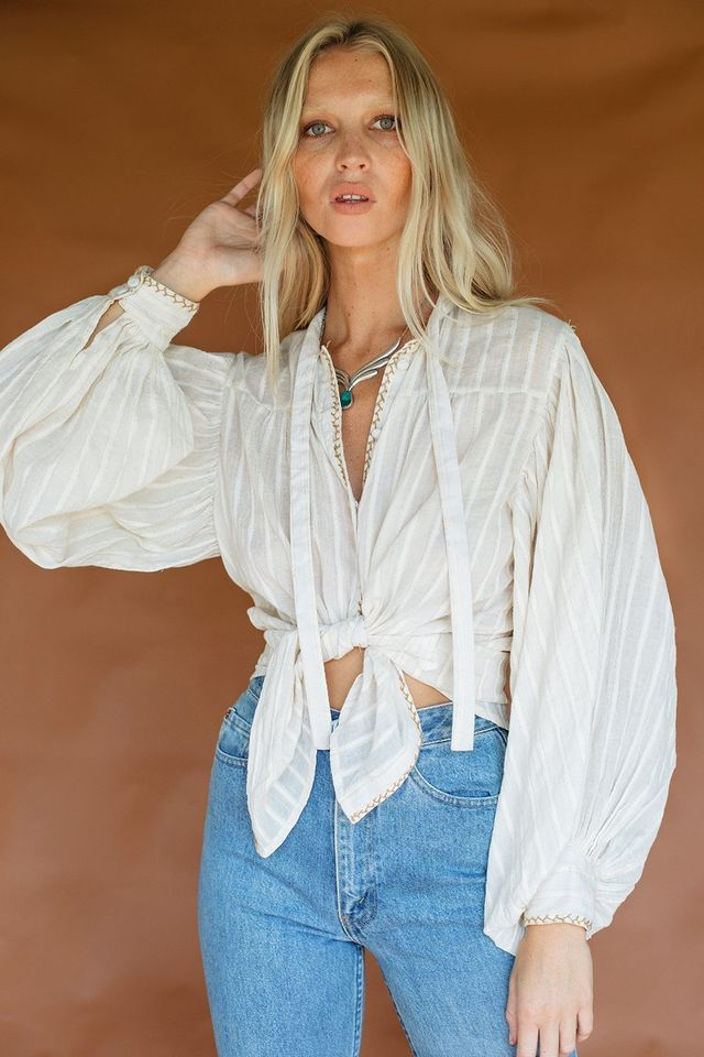 Chasing Unicorns Dust In The Wind Blouse
