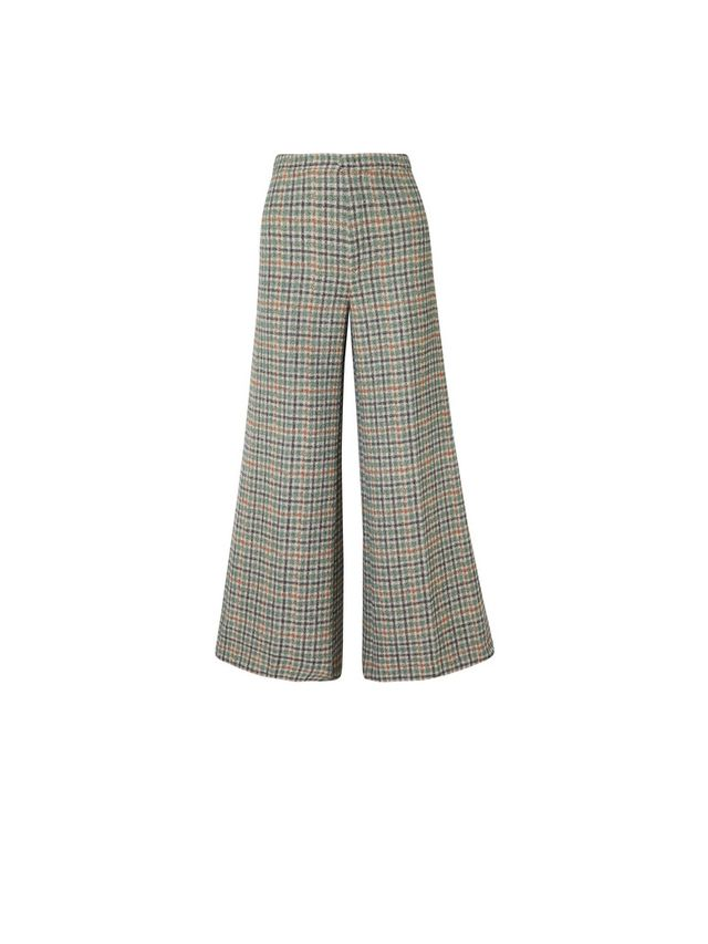 Isabel Marant Tweed Wide-Leg Pants