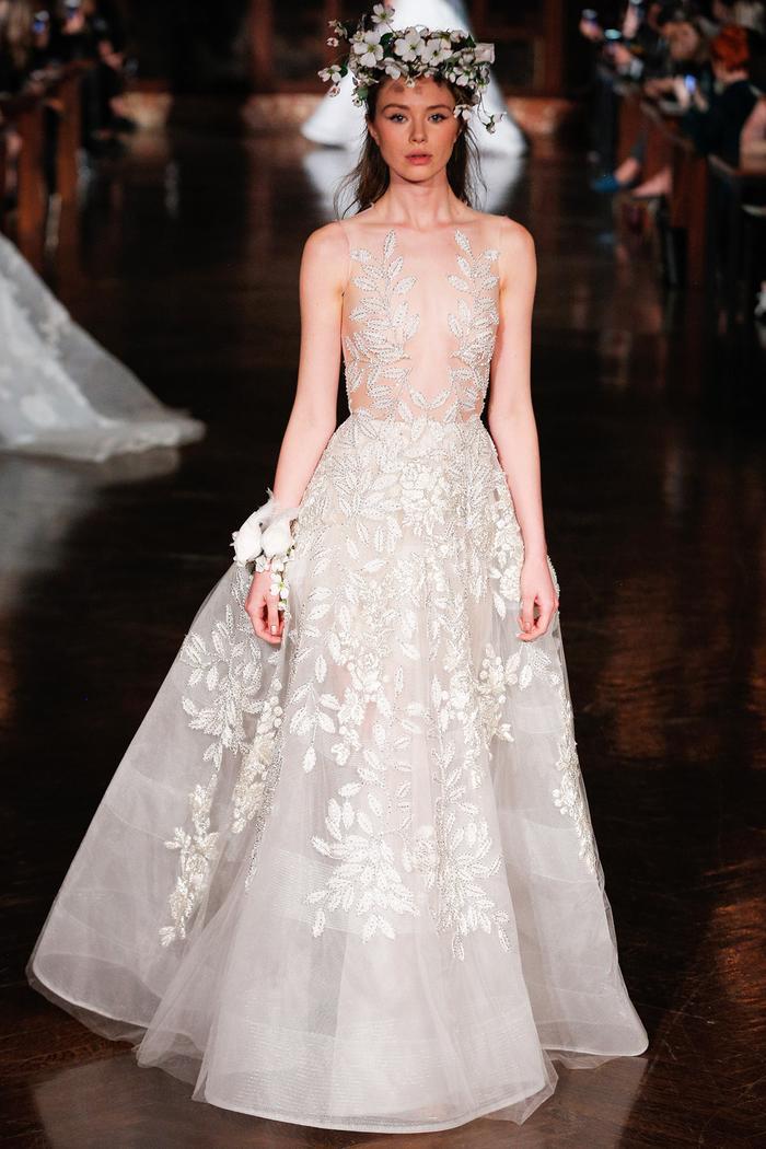 2e0f2197631 5 Stunning Wedding Dresses From Bridal Fashion Week