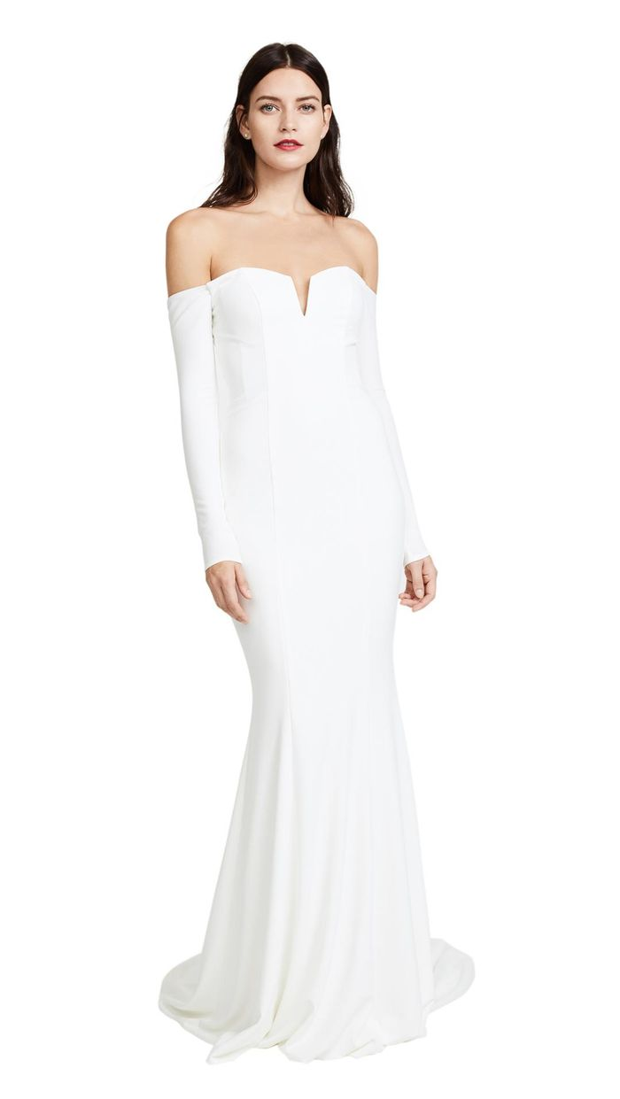 Here Are Some Very Pretty Off-the-Shoulder Wedding Dresses | Who ...