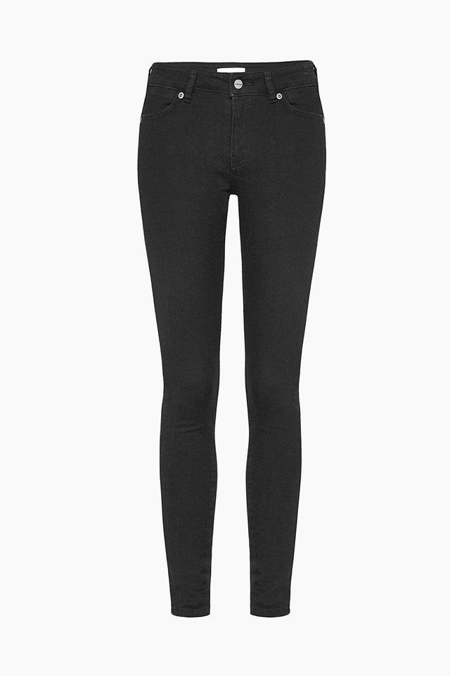 Anine Bing Christy Jeans in Black