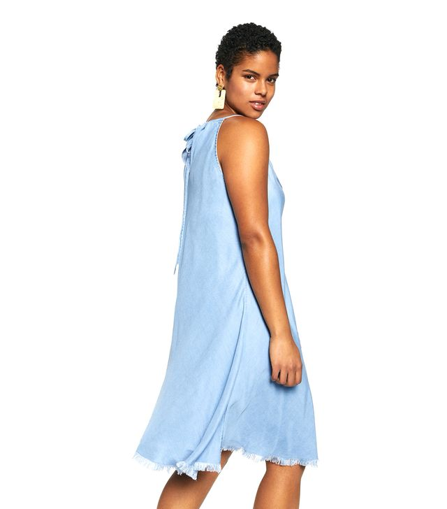 Violeta by Mango Soft Denim Dress