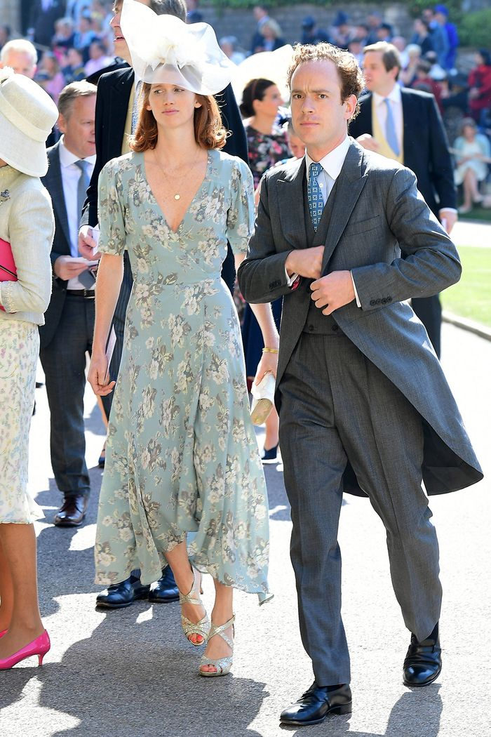 Meghan And Harry S Royal Wedding Guest Outfits Who What