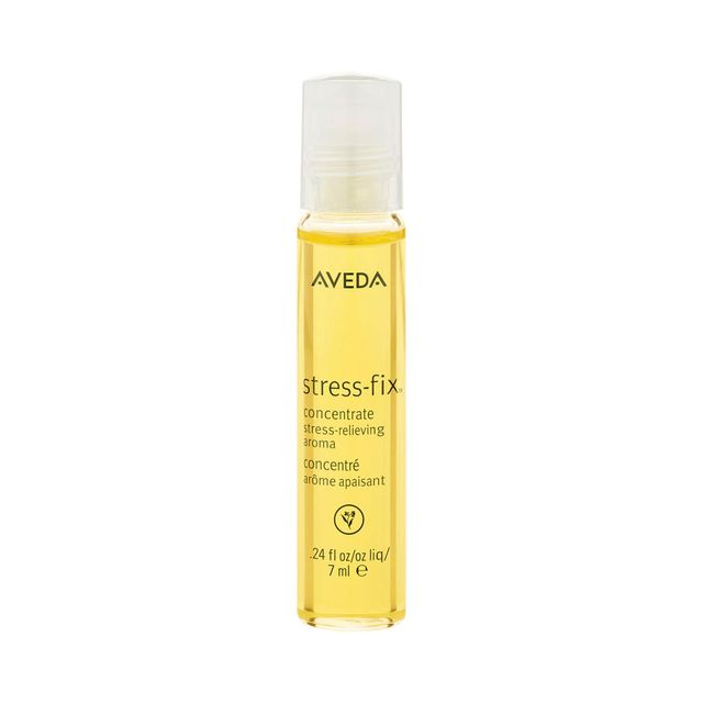 Emma Hoareau travel beauty essentials: Aveda Stress-Fix Concentrate