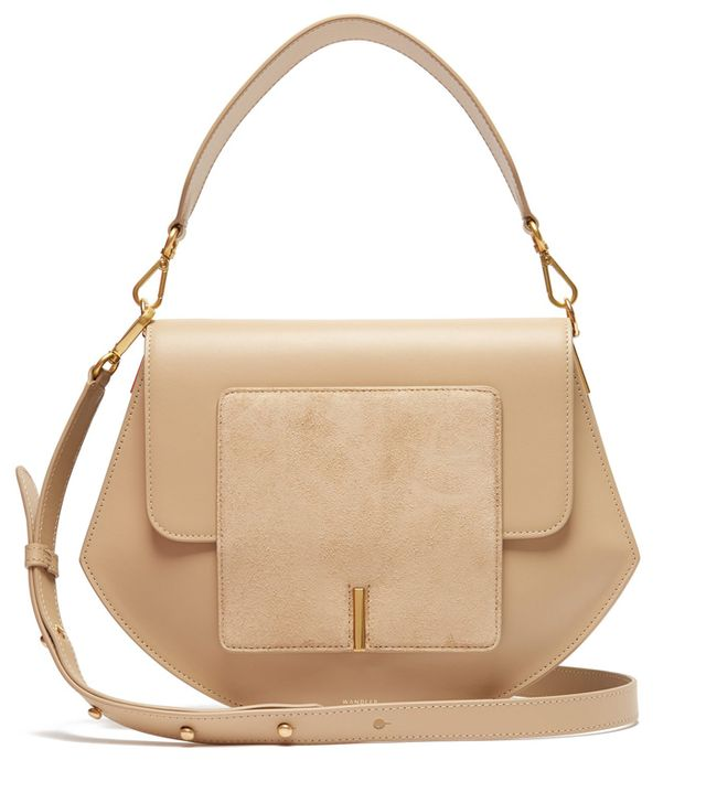Wandler Al Leather and Suede Crossbody Bag