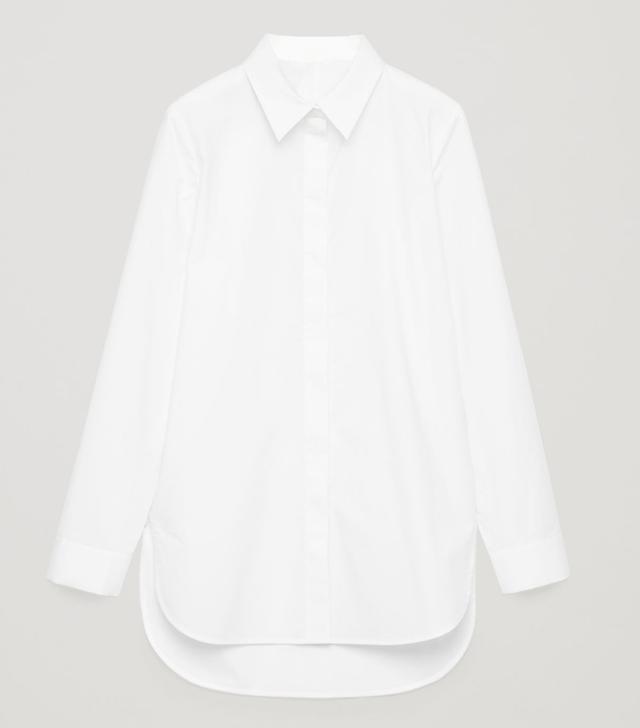 COS Cotton-Poplin Shirt