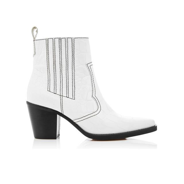 shoe trends 2018: Ganni cowboy boots