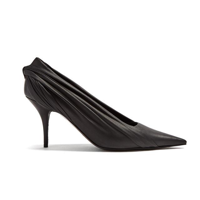 shoe trends 2018: Balenciaga knife pumps