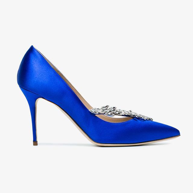 shoe trends 2018: Manolo Blahnik pumps